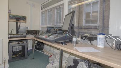 Epsom Hospital Radio's New Main Studio... Continued