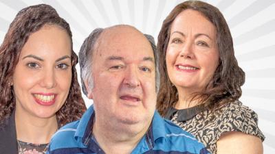 New Presenters Collette Duncan, Donya Soliman and Bertie Newton